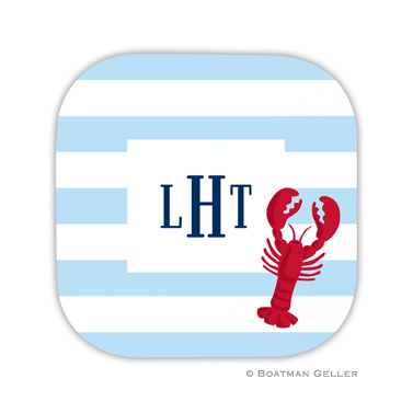 Stripe Lobster Coaster