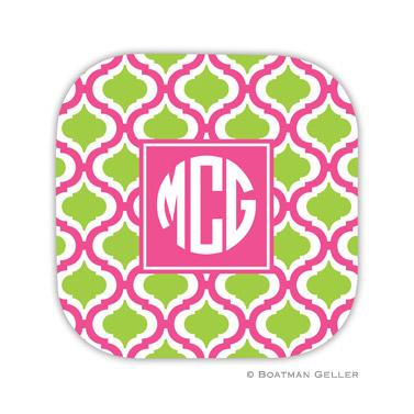 Kate Raspberry & Lime Coaster