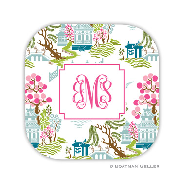 Chinoiserie Spring Coaster