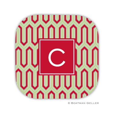 Blaine Cherry Holiday Coaster - set of 4