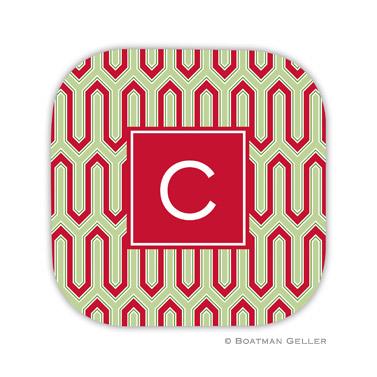 Blaine Cherry Holiday Coaster - set of 4