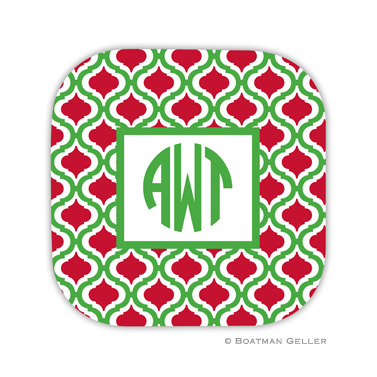 Kate Kelly & Red Holiday Coaster - set of 4