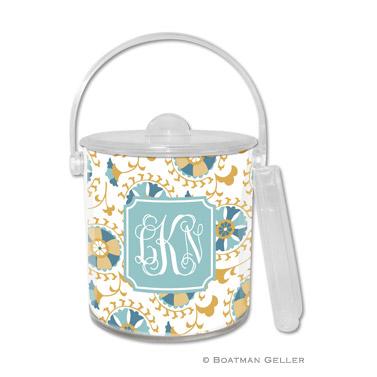 Suzani Gold Ice Bucket