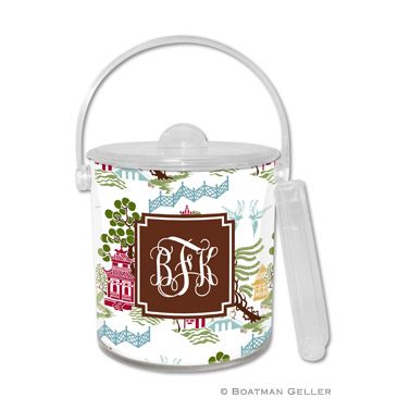 Chinoiserie Autumn Ice Bucket