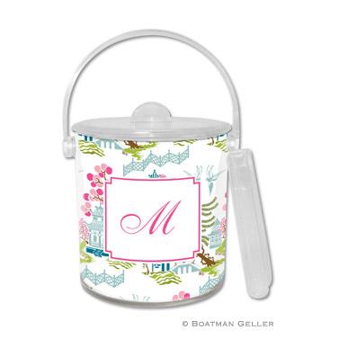 Chinoiserie Spring Ice Bucket