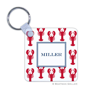 Lobsters Red Key Chain