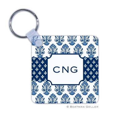 Beti Navy Key Chain