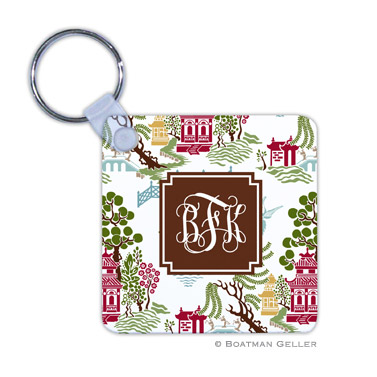 Chinoiserie Autumn Key Chain