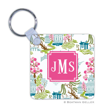 Chinoiserie Spring Key Chain