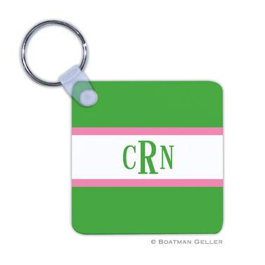 Stripe Kelly & Bubblegum Key Chain
