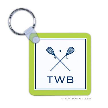 Lacrosse Key Chain