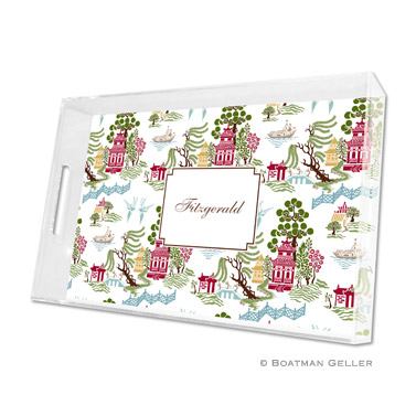Chinoiserie Autumn Large Tray