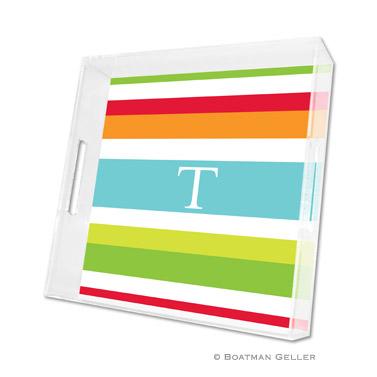 Espadrille Bright Square Tray