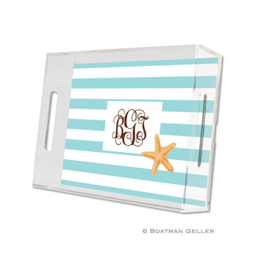 Stripe Starfish Small Tray