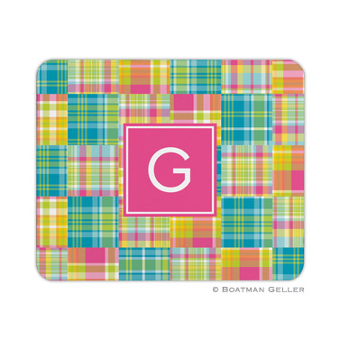 Madras Patch Bright Mouse Pad