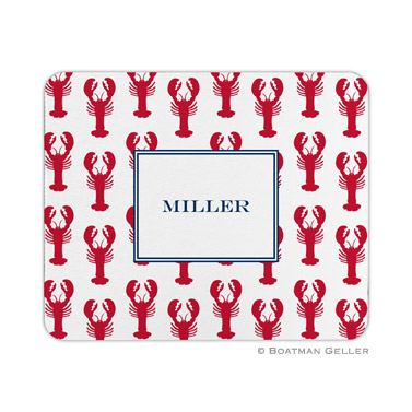 Lobsters Red Mouse Pad