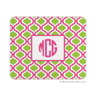 Kate Raspberry & Lime Mouse Pad