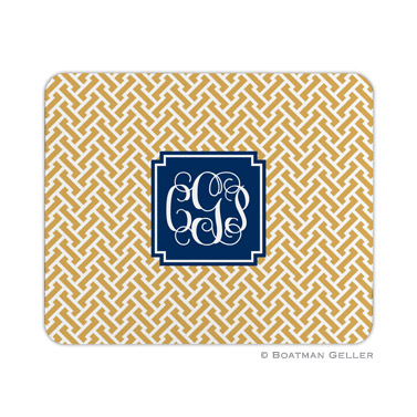 Stella Gold Mouse Pad