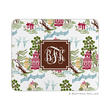 Chinoiserie Autumn Mouse Pad
