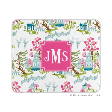 Chinoiserie Spring Mouse Pad