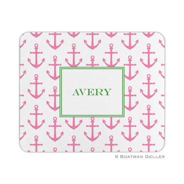 Anchors Pink Mouse Pad