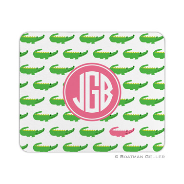Alligator Repeat Mouse Pad