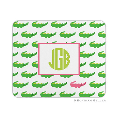 Alligator Repeat Mouse Pad by Boatman Geller
