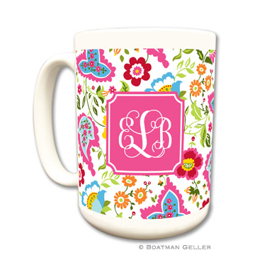 Bright Floral Coffee Mug
