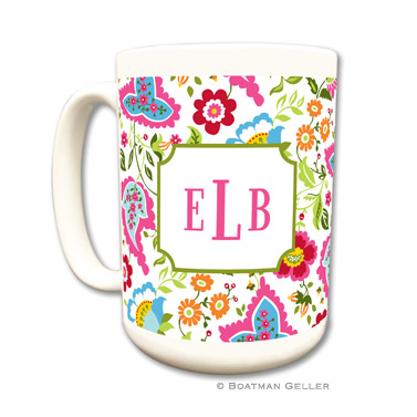 Bright Floral Coffee Mug