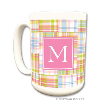 Madras Patch Pink Coffee Mug