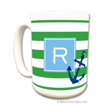 Stripe Anchor Coffee Mug