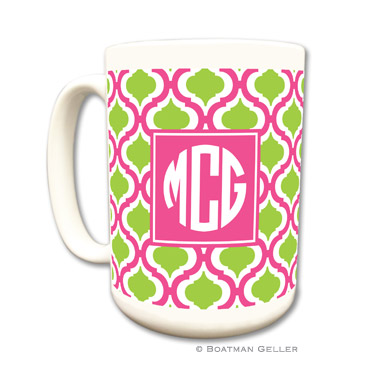 Kate Raspberry & Lime Coffee Mug