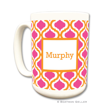 Kate Tangerine & Raspberry Coffee Mug