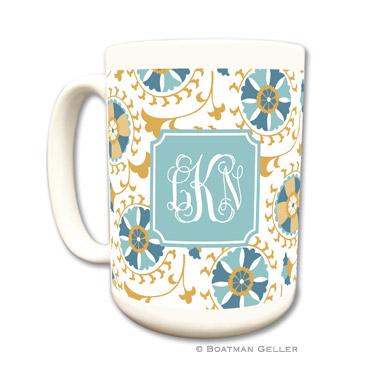 Suzani Gold Coffee Mug