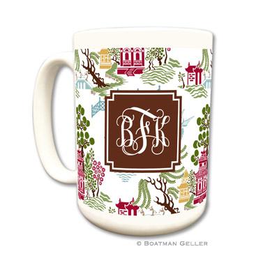 Chinoiserie Autumn Coffee Mug