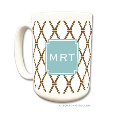 Bamboo Brown & Slate Coffee Mug