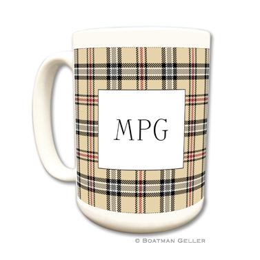 Town Plaid Coffee Mug