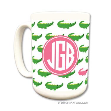 Alligator Repeat Coffee Mug