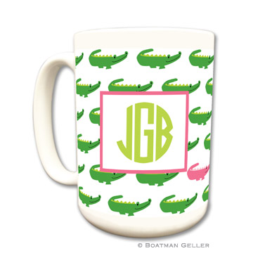 Alligator Repeat Coffee Mug