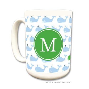 Whale Repeat  Coffee Mug by Boatman Geller