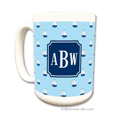 Little Sailboat Coffee Mug