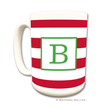 Awning Stripe Red Mug