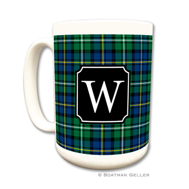 Black Watch Plaid Mug