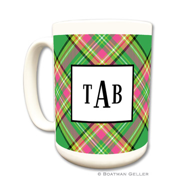 Preppy Plaid Mug