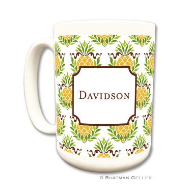 Pineapple Repeat Coffee Mug
