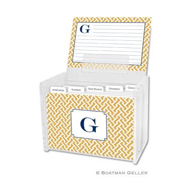 Stella Gold Recipe Box