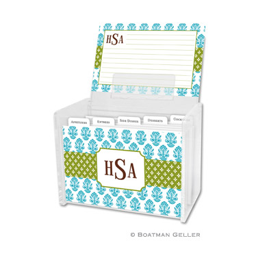 Beti Teal Recipe Box