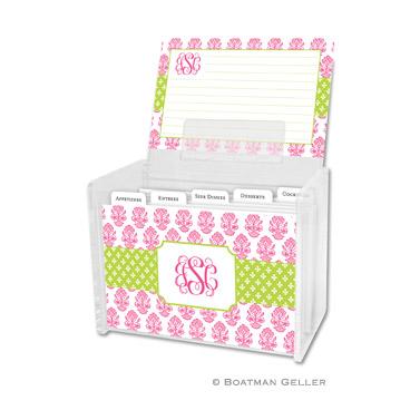 Beti Pink Recipe Box