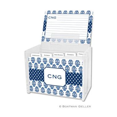Beti Navy Recipe Box