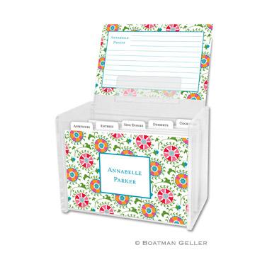 Suzani Recipe Box